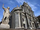 Duomo  Catania  Sicily  Italy  Europe