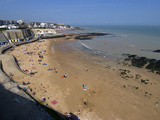 Beach  Louisa Bay  Broadstairs  Kent  England  United Kingdom  Europe