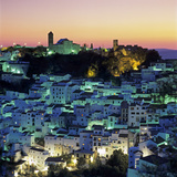 White Andalucian Village at Dusk  Casares  Andalucia  Spain  Europe