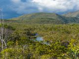 Landscape Near Waterfalls Chutes de La Madeleine  Grande Terre  New Caledonia  Melanesia
