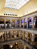 Interior  Magna Plaza Shopping Centre  Amsterdam  Holland  Europe
