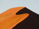 Sand Dune  Sossusvlei  Namib Naukluft Park  Namib Desert  Namibia  Africa