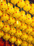 Brightly Coloured Chinese Lanterns at Kek Lok Si Temple  Penang  Malaysia  Southeast Asia  Asia