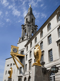 Leeds Owls and Civic Hall  Leeds  West Yorkshire  Yorkshire  England  United Kingdom  Europe