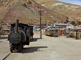 Old Mining Ghost Town of Pulacayo  Famously Linked to Butch Cassidy and Sundance Kid  Bolivia