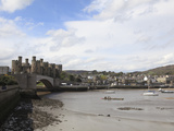 Conwy Castle  UNESCO World Heritage Site  Conwy  North Wales  Wales  United Kingdom  Europe