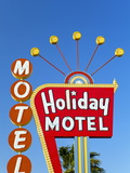 Motel Sign  the Strip  Las Vegas  Nevada  United States of America  North America