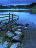 Loughrigg Tarn  Lake District National Park  Cumbria  England  United Kingdom  Europe