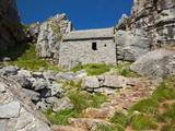 St Govans Chapel  St Govans Headland  Pembroke  Pembrokeshire  Wales  United Kingdom  Europe