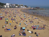 Beach  Viking Bay  Broadstairs  Kent  England  United Kingdom  Europe