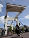 Magere Brug (Skinny Bridge)  Amsterdam  Holland  Europe