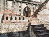 Ruins of Old Steps at King Narai's Palace  Lopburi  Thailand  Southeast Asia  Asia