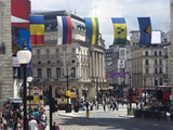 Piccadilly Circus  Regent Street  West End  London  England  United Kingdom  Europe