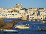 Port  Naoussa  Paros  Cyclades  Aegean  Greek Islands  Greece  Europe