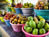 Exotic Fruits at a Tropical Fruit Farm  Bali  Indonesia  Southeast Asia  Asia