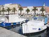 Fishing Boats in Split  Dalmatian Coast  Croatia  Europe