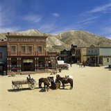 Mini Hollywood (Spaghetti Western Film Set)  Near Tabernas  Andalucia  Spain  Europe