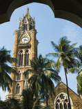 Rajabhai Clock Tower  Mumbai (Bombay)  Maharashtra  India  Asia