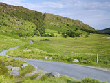 Road Near Blea Tarn  Lake District National Park  Cumbria  England  United Kingdom  Europe