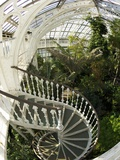 Staircase in Temperate House  Royal Botanic Gardens  UNESCO World Heritage Site  London  England