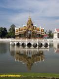 Bang Pa-In Royal Palace  Near Ayutthaya  Thailand  Southeast Asia  Asia