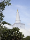 Ruwanweliseya  Maha Thupa  or Great Stupa  UNESCO World Heritage Site  Anuradhapura  Sri Lanka