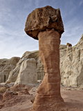Toadstool Hoodoo  Grand Staircase-Escalante National Monument  Utah  USA  North America