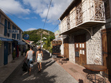Le Bourg  Iles Des Saintes  Terre de Haut  Guadeloupe  West Indies  French Caribbean  France