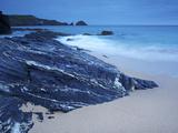 Mother Ivey's Bay  Cornwall  England  United Kingdom  Europe