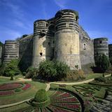 Chateau D'Angers  Angers  Loire Valley  Pays-De-La-Loire  France  Europe