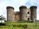 Maschio Angioino Castle (Castel Nuovo)  Naples  Campania  Italy  Europe