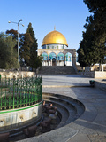 Dome of the Rock and Temple Mount  Old City  UNESCO World Heritage Site  Jerusalem  Israel