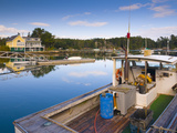 Lobster Fishing Boats  Boothbay Harbor  Maine  New England  United States of America  North America