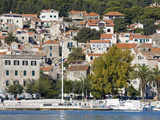 The Riva in Split  Dalmatian Coast  Croatia  Europe