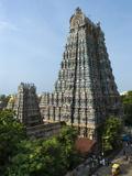 Sri Meenakshi Sundareshwara Temple  Madurai  Tamil Nadu  India  Asia