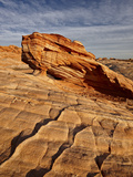 Arch in Layered Sandstone  Valley of Fire State Park  Nevada  USA  North America