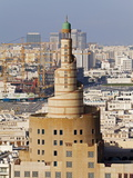 The Spiral Mosque of the Kassem Darwish Fakhroo Islamic Centre in Doha  Doha  Qatar  Middle East