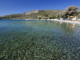 Clear Water and Beach  Klima  Samos  Aegean Islands  Greece