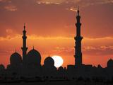 Sheikh Zayed Mosque  Abu Dhabi  United Arab Emirates  Middle East