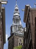 Oude Kerk  Amsterdam  Holland  Europe