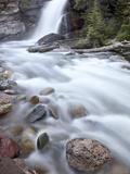Baring Creek Falls  Glacier National Park  Montana  United States of America  North America