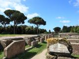 Ruins of Ostia Antica  Rome  Lazio  Italy  Europe