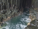 Fingal's Cave  Isle of Staffa  Inner Hebrides  Scotland  United Kingdom  Europe