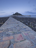St Michael's Mount Near to Marazion at Dawn  Cornwall  England  United Kingdom  Europe