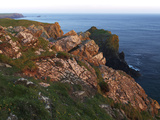 Lion Rock and Lizard Point  the Lizard  Cornwall  England  United Kingdom  Europe