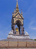 Albert Memorial  Gothic Revival Monument to Prince Albert  Kensington Gardens  London  England