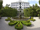 Villa Carlotta and Gardens in Spring Sunshine  Tremezzo  Lake Como  Lombardy  Northern Italy