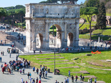 The Arch of Constantine  Rome  Lazio  Italy  Europe