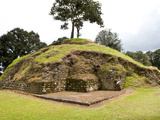 The Ruins of Iximche Near Tecpan  Guatemala  Central America