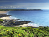 Woolacombe Sands and Baggy Point  Devon  England  United Kingdom  Europe